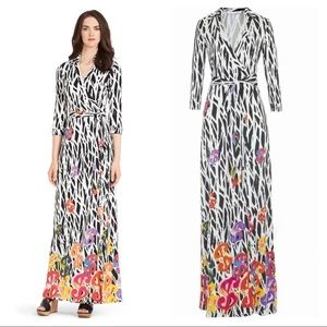 NEW Diane Von Furstenberg Andy Warhol wrap dress